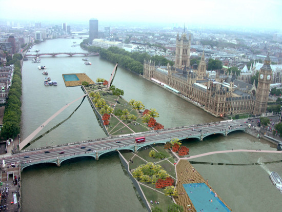 Alison Brooks Architects _ LDA If I could design London _ Westminster Bridge After