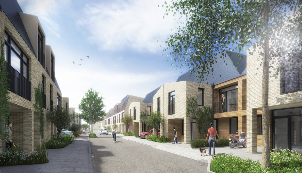 Dollis valley estate regeneration phase 1 alison brooks for Home zone designs