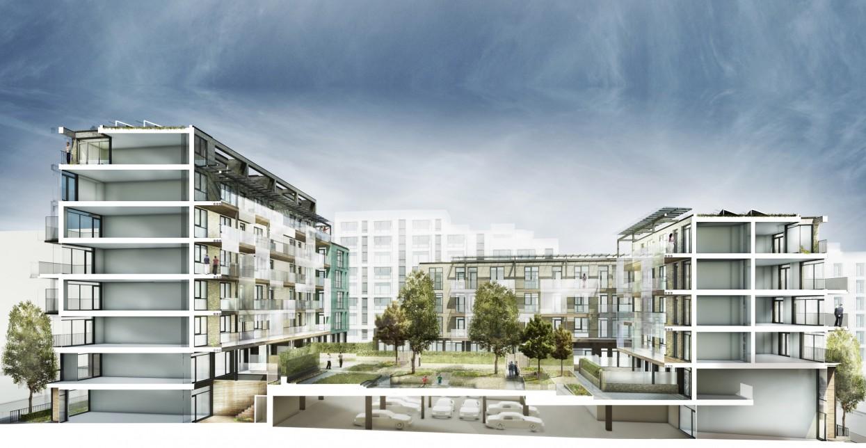 South Acton Estate Regeneration Phase 2a Alison Brooks