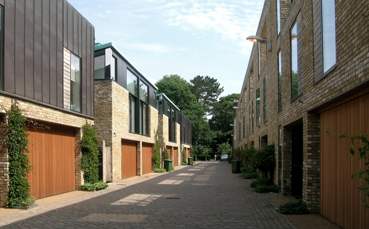 Front Elevation Of House Photo : Accordia aba sky villas alison brooks architects