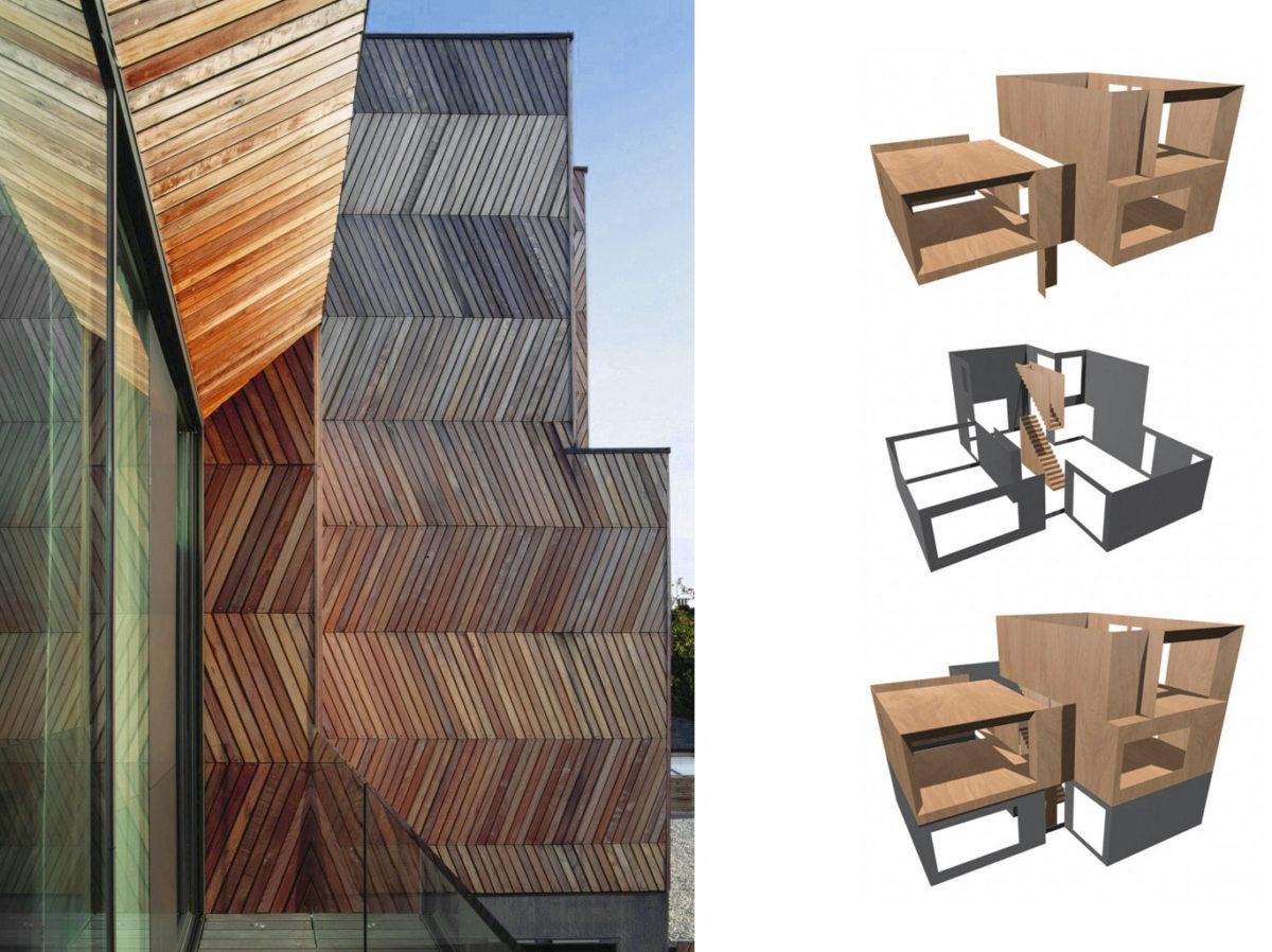 Alison Brooks Architects _ Herringbone Houses _ Diagrams 4