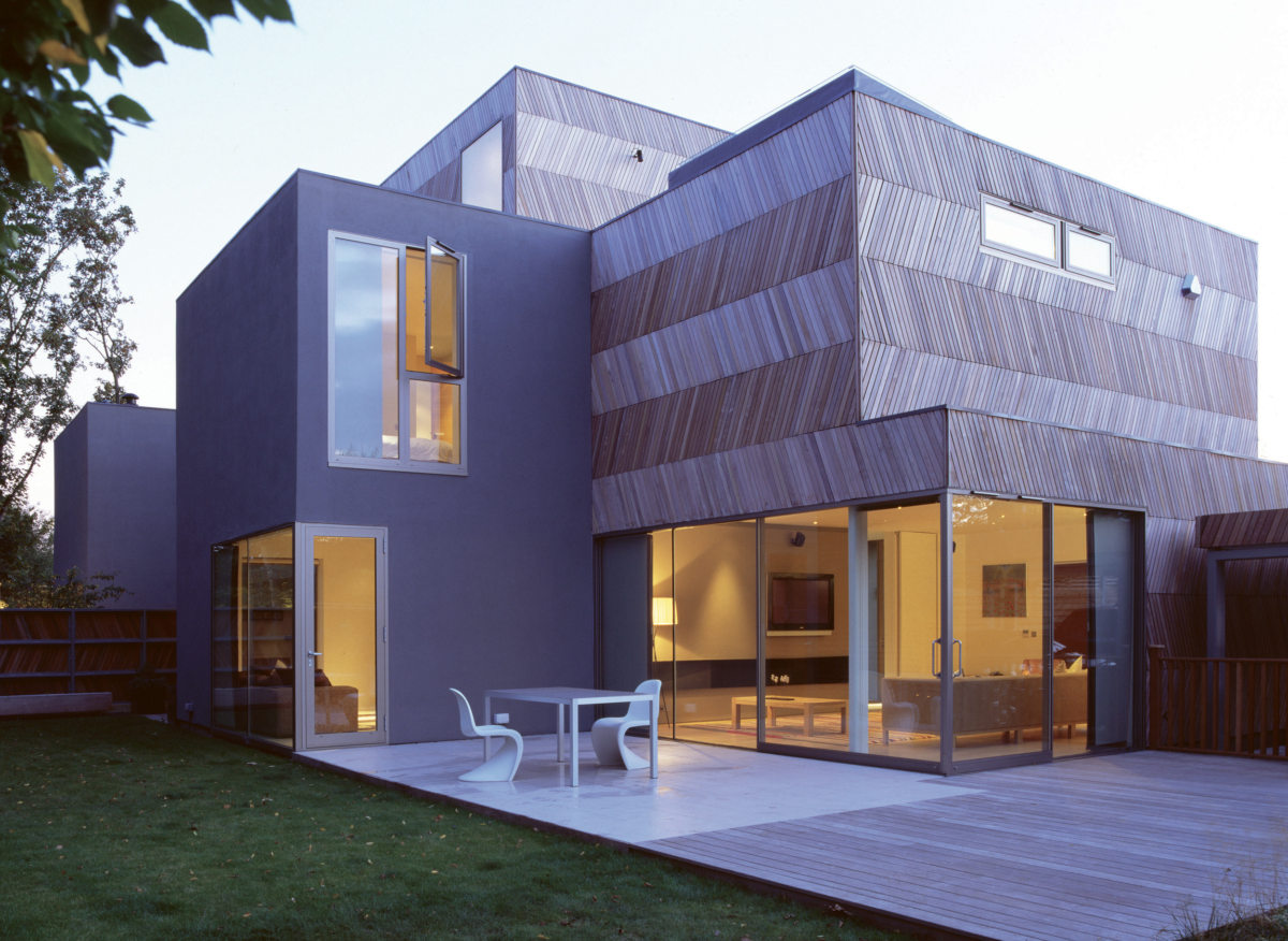 Herringbone houses alison brooks architects for House pictures