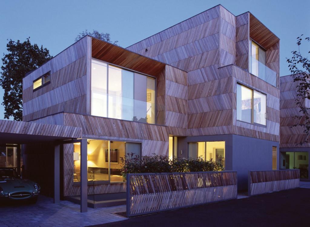 Alison Brooks Architects _ Herringbone Houses _ Photo Exterior Front