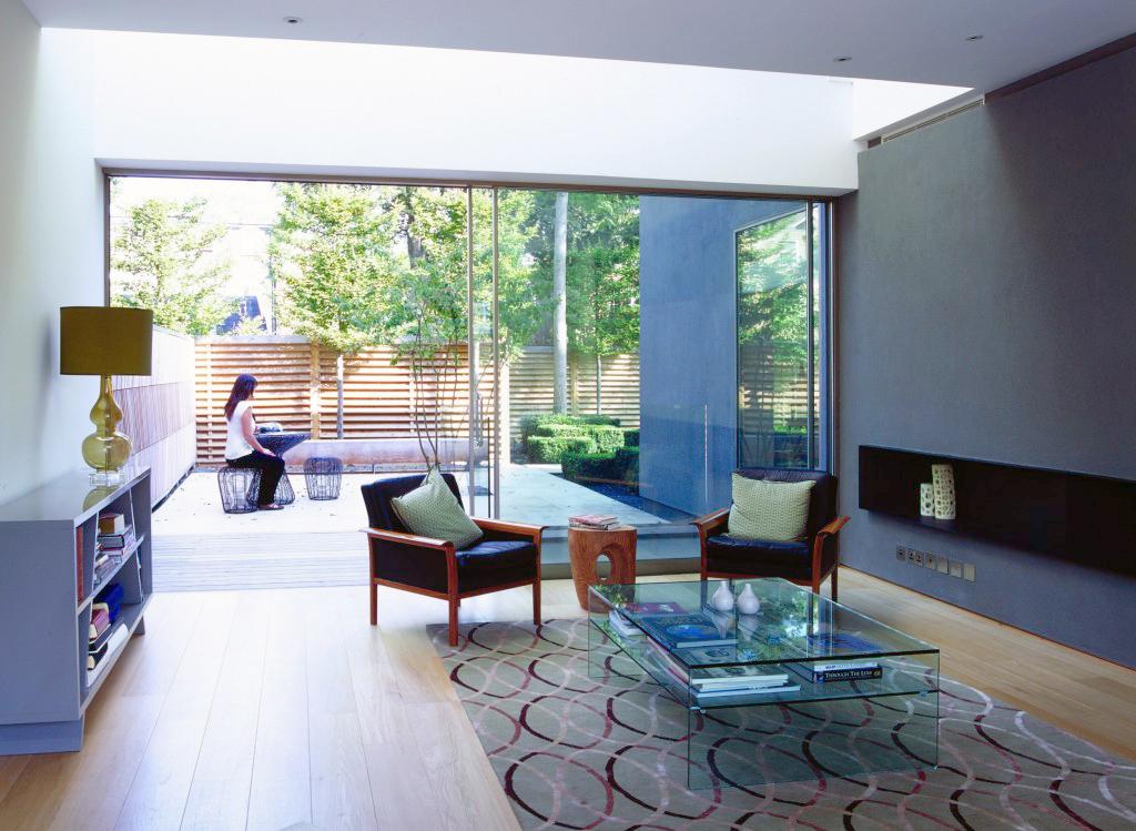 Alison Brooks Architects _ Herringbone Houses _ Photo Interior Living Room