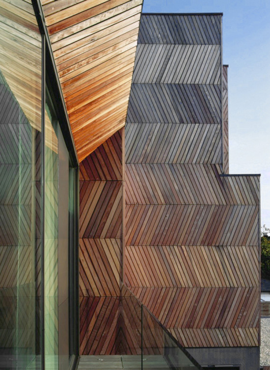 Alison Brooks Architects _ Herringbone Houses _ Window Close Up