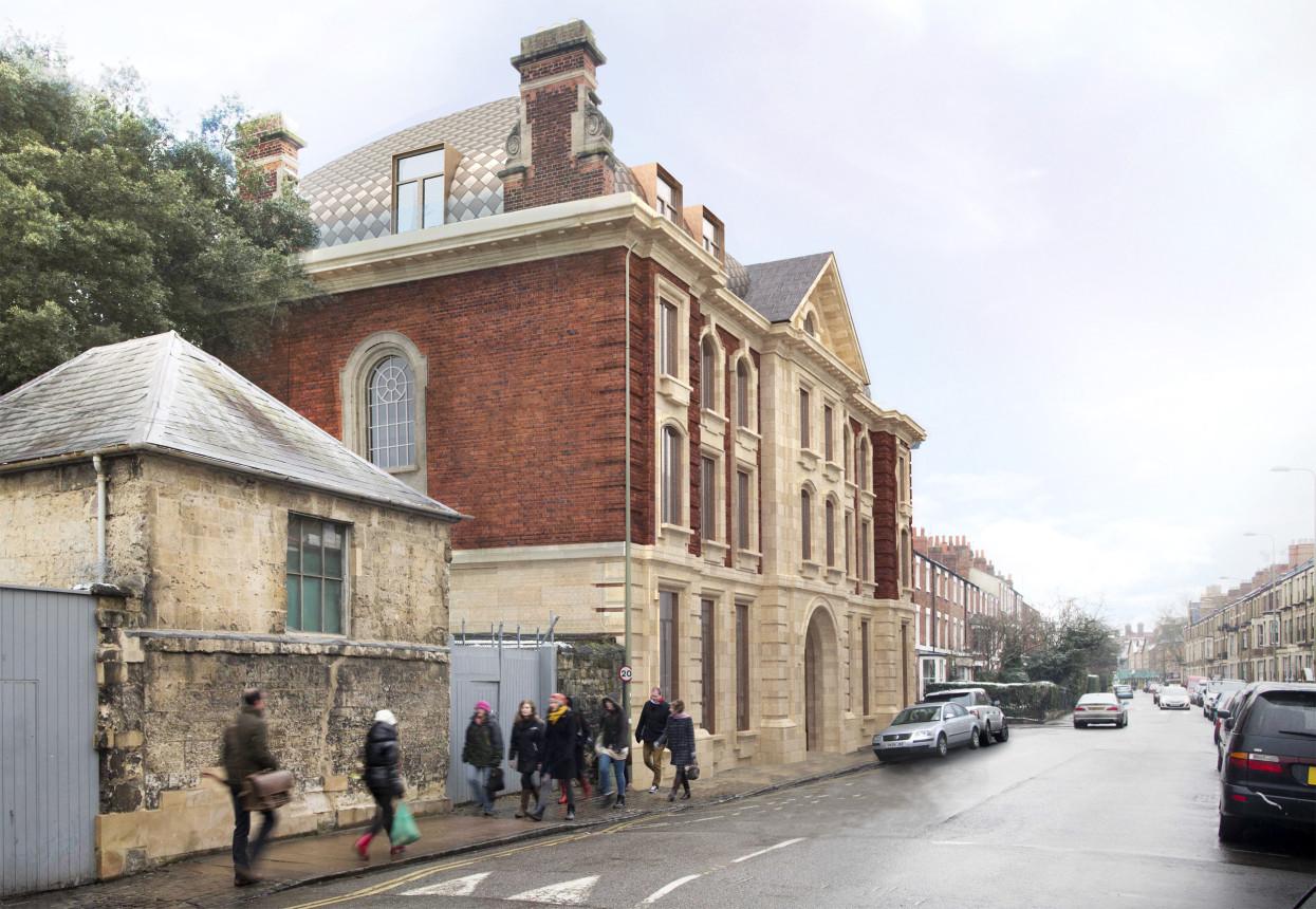Exeter College Cohen Quad Alison Brooks Architects