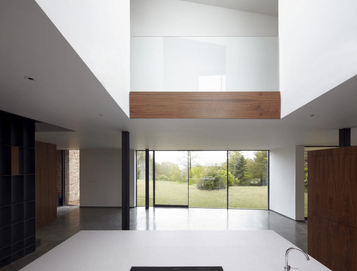 Alison Brooks Architects _ Windward House _ Photo Kitchen Void