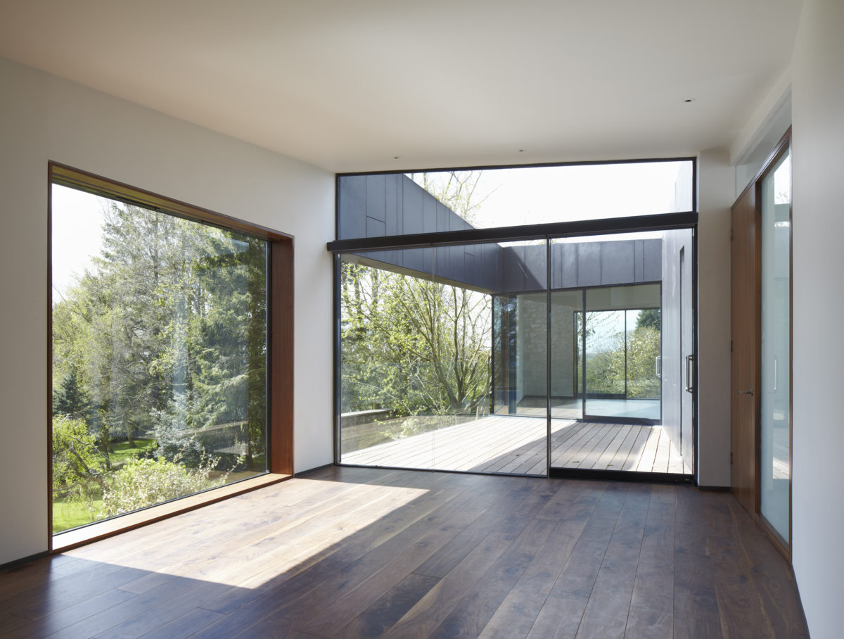 Alison Brooks Architects _ Windward House _ Terrace from Inside