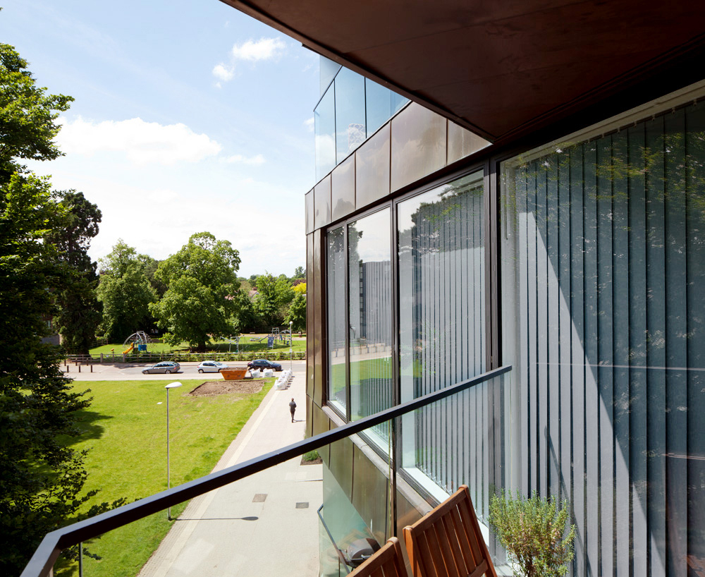 Alison Brooks Architects _ Accordia _ Brass Building _ View From Terrace