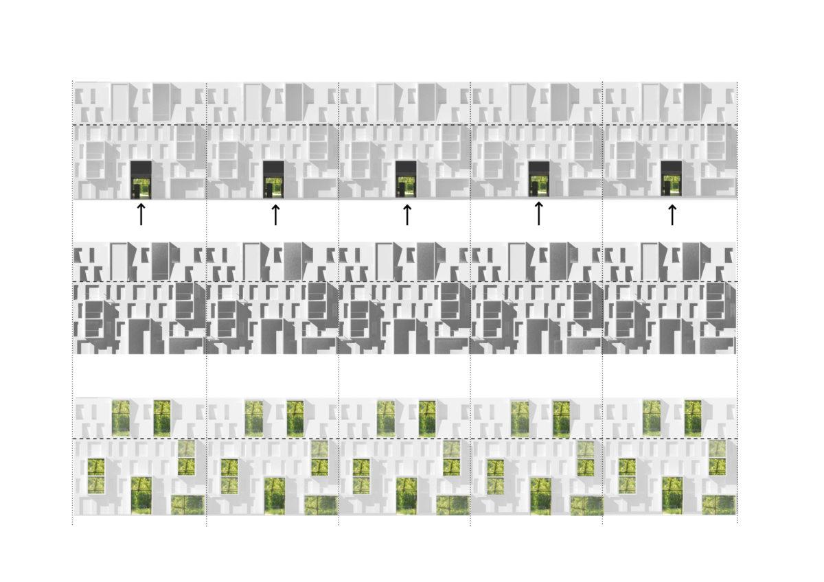 Alison Brooks Architects _ South Kilburn Estate Regeneration _ Rendering _ Facade Diagram