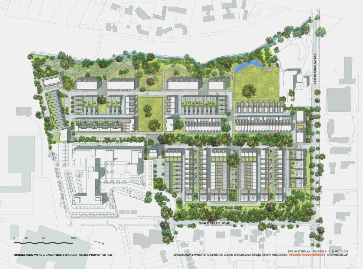 Accordia masterplan alison brooks architects for How to read construction site plans