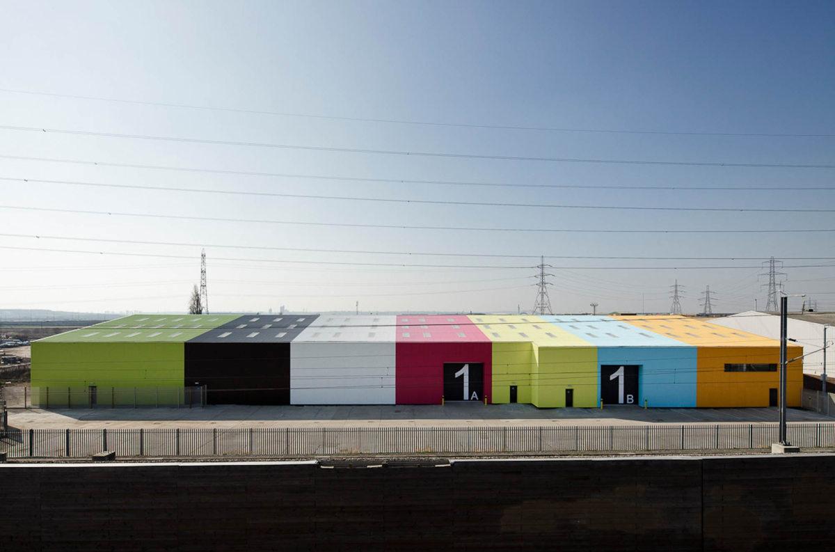 Alison Brooks Architects _ Rainham _ Wildspace Warehouse _ Exterior Distant Image