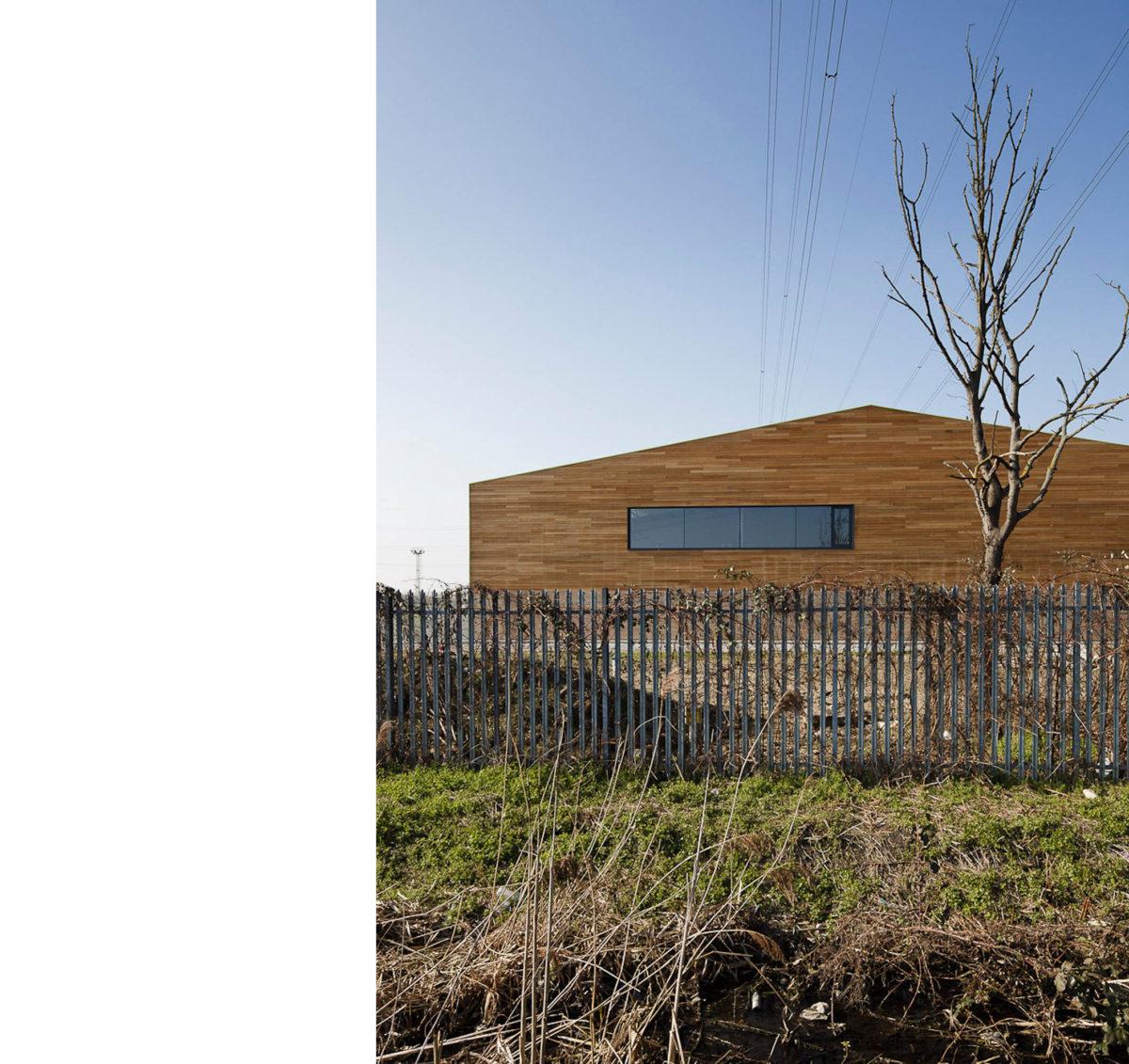 Alison Brooks Architects _ Rainham _ Wildspace Warehouse _ Photo End