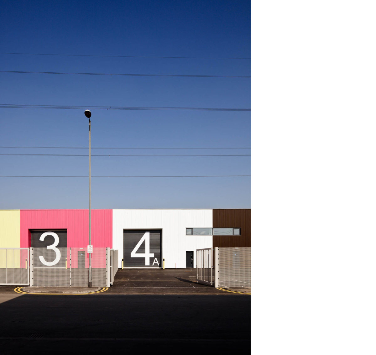 Alison Brooks Architects _ Rainham _ Wildspace Warehouse _ Photo Side