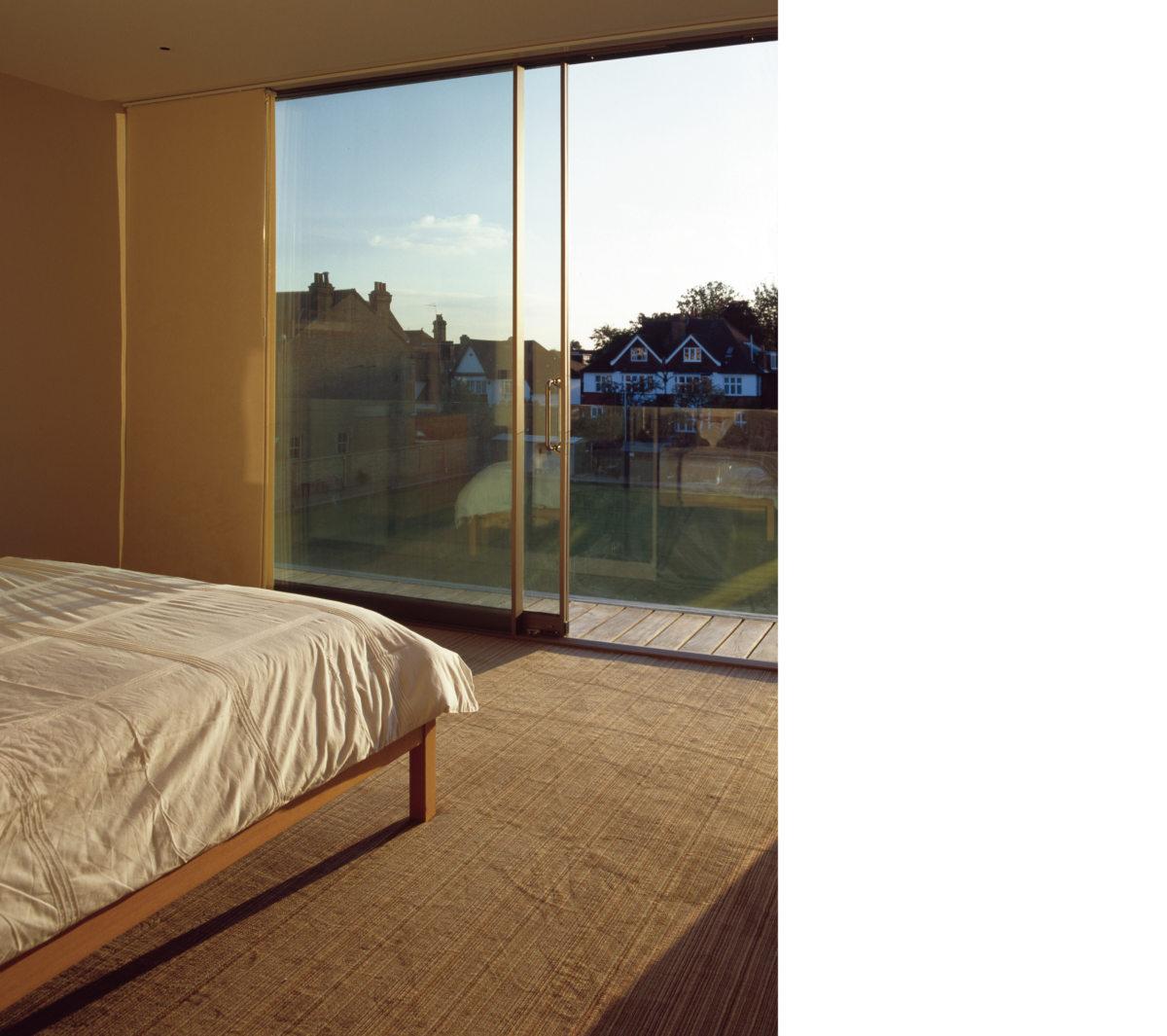 Alison Brooks Architects _ Herringbone Houses _ Bedroom