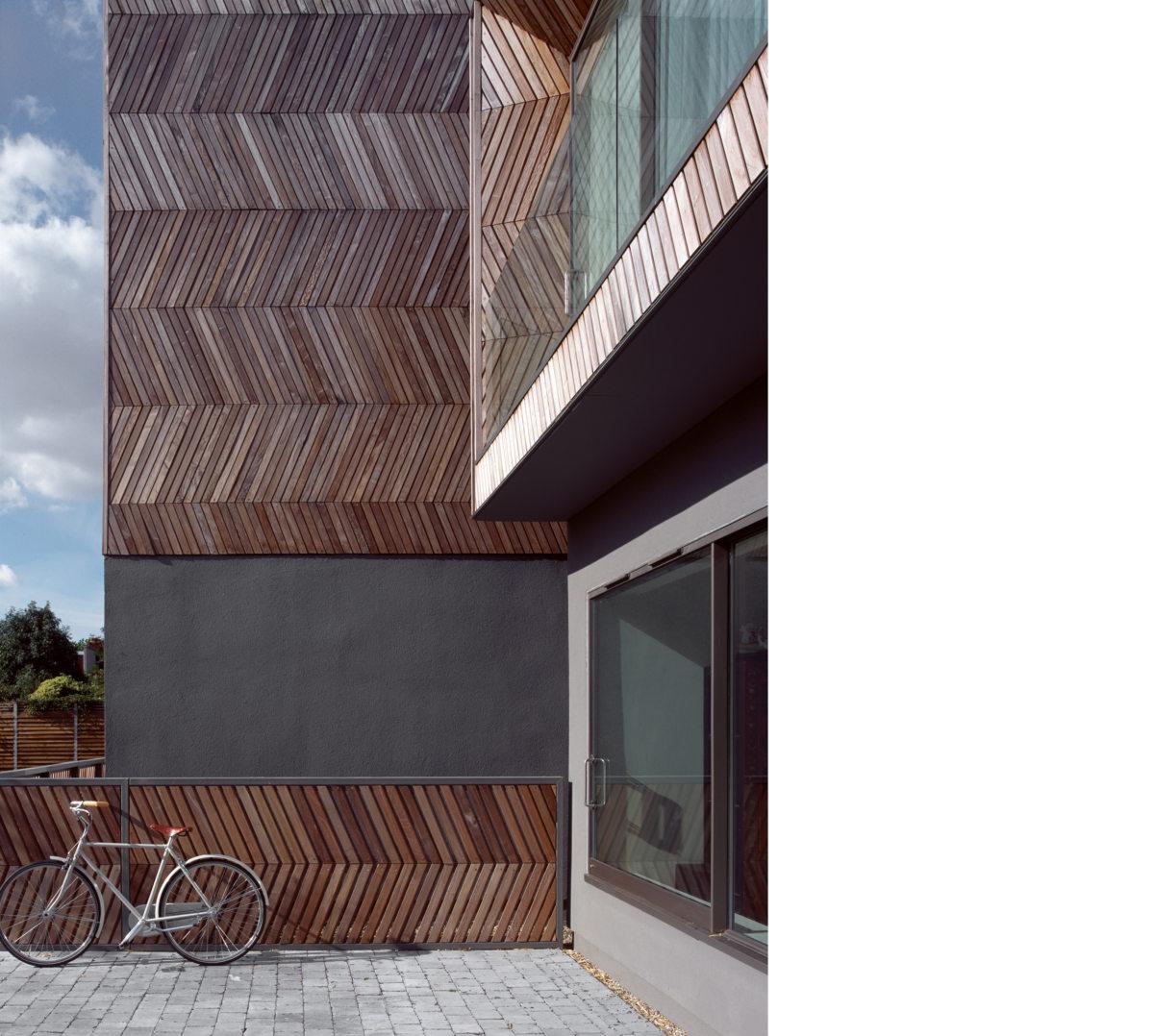 Alison Brooks Architects _ Herringbone Houses _ Photo Exterior Front Oblique