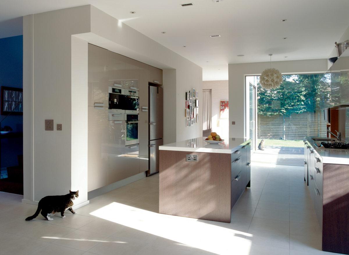 Alison Brooks Architects _ Herringbone Houses _ Photo Interior Kitchen