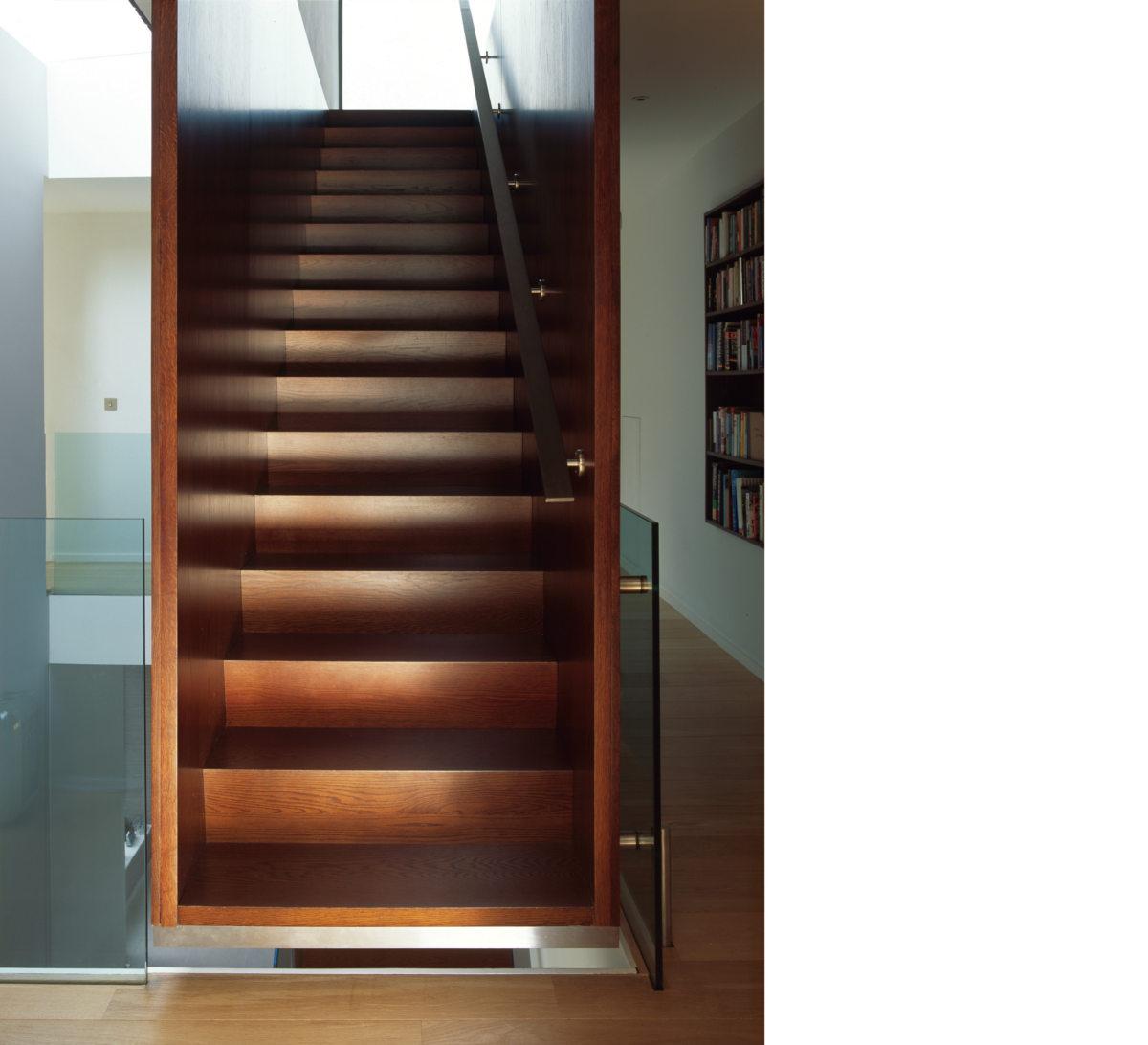 Alison Brooks Architects _ Herringbone Houses _ Stair 1