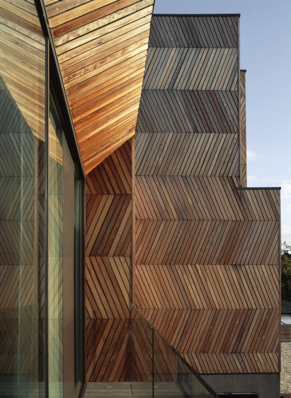 Alison Brooks Architects _ Herringbone Houses _ Window Close Up 2
