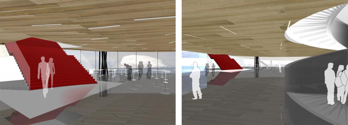Alison Brooks Architects _ Artic Culture Centre _ Hammerfest _ Undercroft Renderings