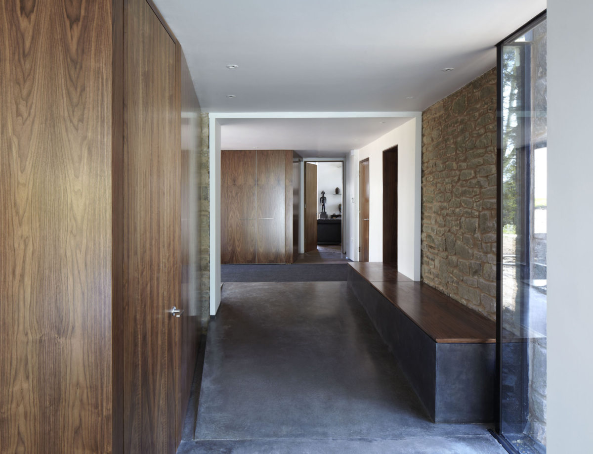 Alison Brooks Architects _ Windward House _ Photo Corridor 1