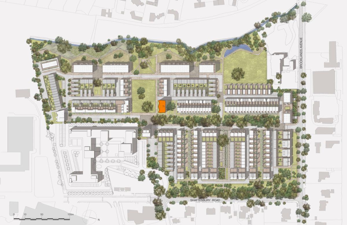 Alison Brooks Architects _ Accordia _ Brass Building _ Masterplan 1