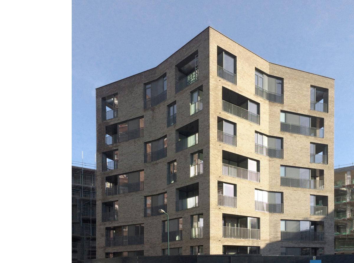 Alison Brooks Architects _ South Kilburn Estate Regeneration _ Bronte and Fielding _ Construction Photo 2a