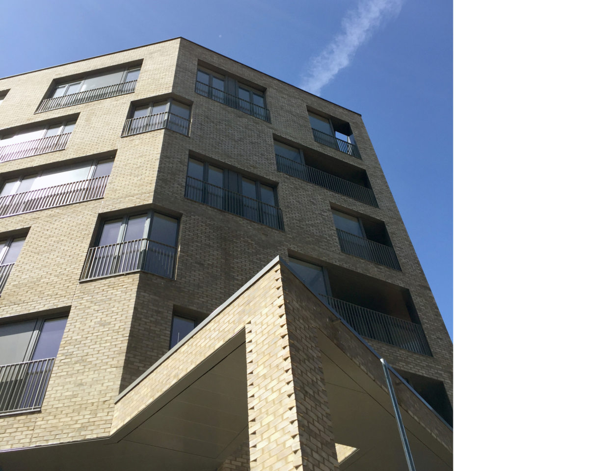 Alison Brooks Architects _ South Kilburn Estate Regeneration _ Bronte and Fielding _ Construction Photo 5