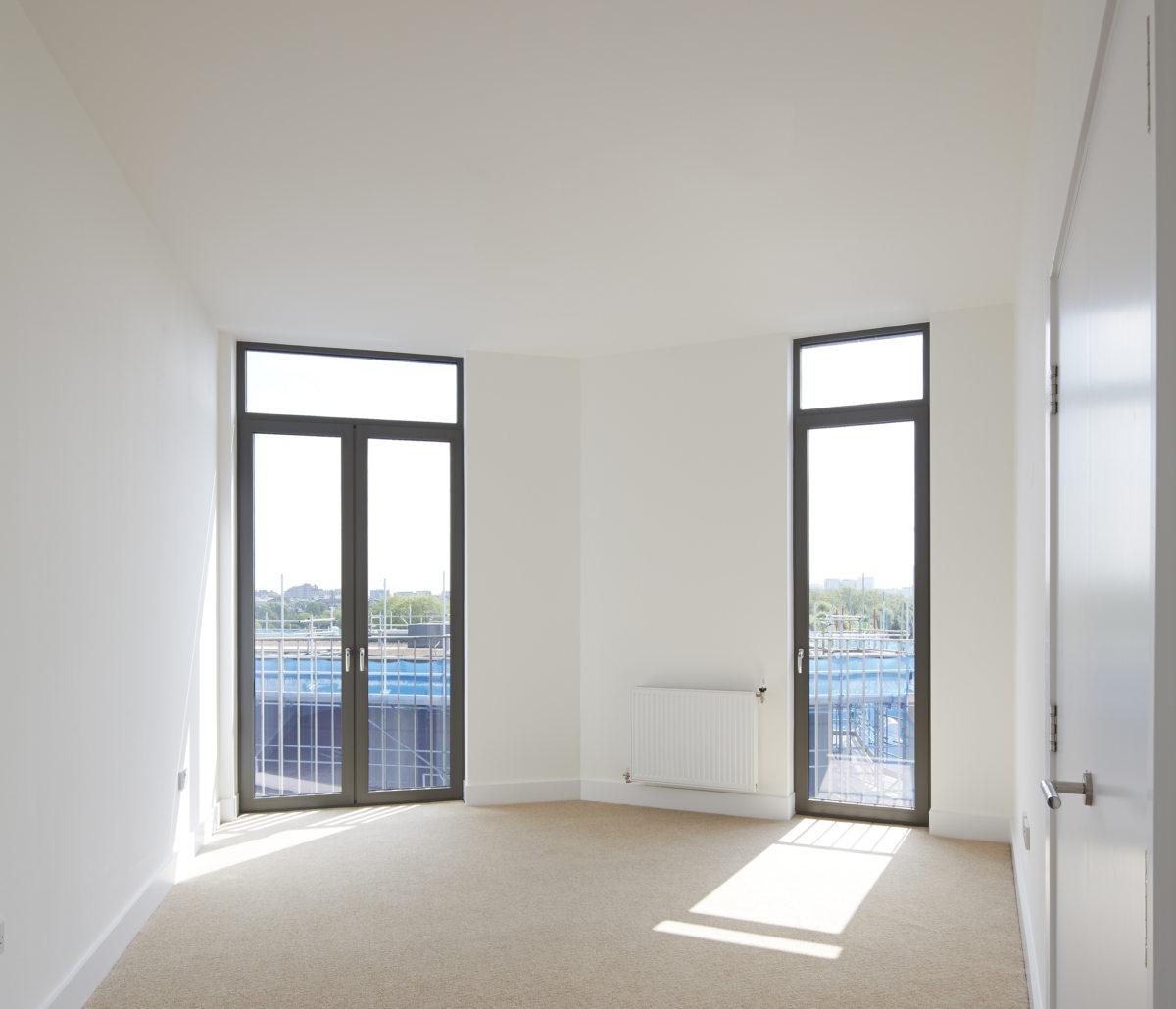 Alison Brooks Architects _ South Kilburn Estate Regeneration _ Bronte and Fielding _ Photo Interior Bedroom