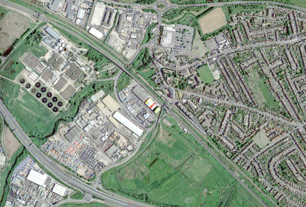 Alison Brooks Architects _ Rainham _ Aerial Map 1