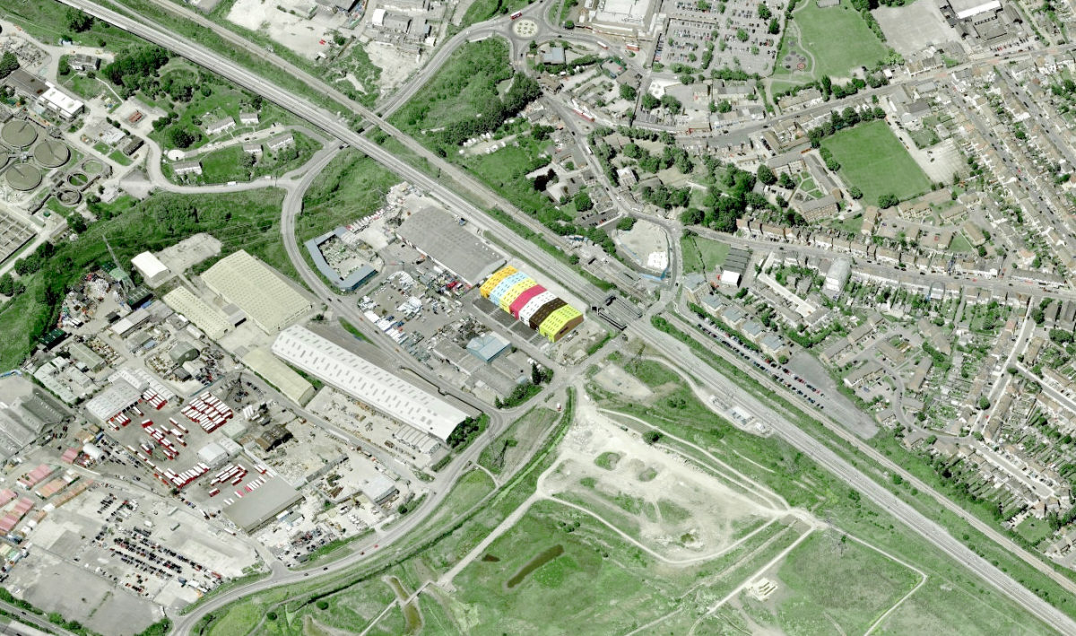 Alison Brooks Architects _ Rainham _ Aerial View