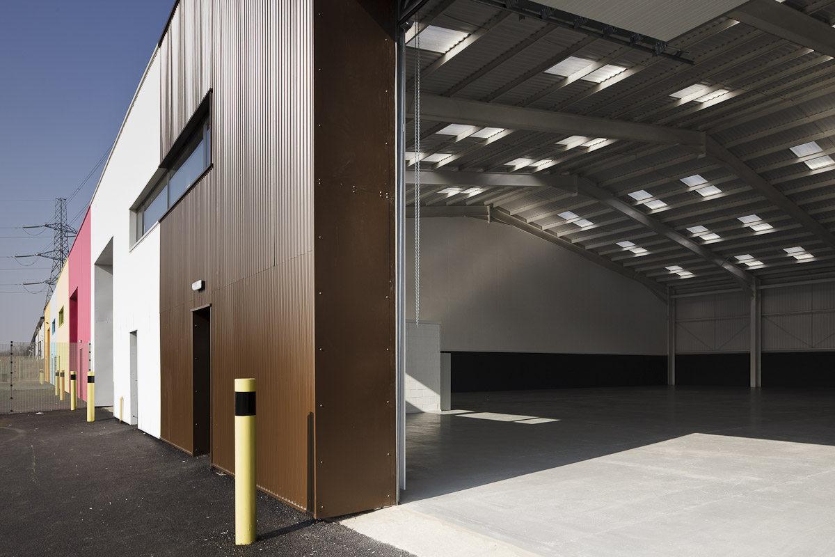 Alison Brooks Architects _ Rainham _ Wildspace Warehouse _ Inside Outside