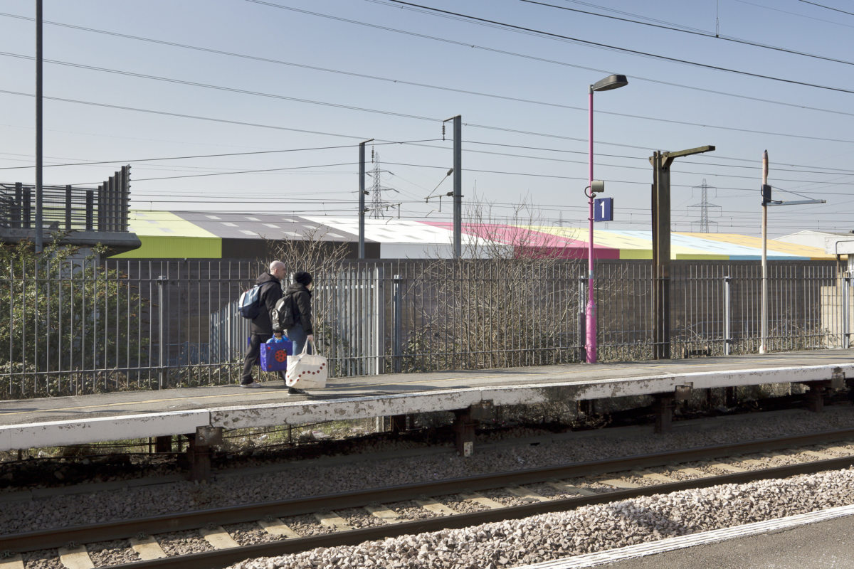 Alison Brooks Architects _ Rainham _ Wildspace Warehouse _ Photo Station
