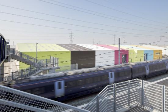 Alison Brooks Architects _ Rainham _ Wildspace Warehouse _ Photo Station Eurostar