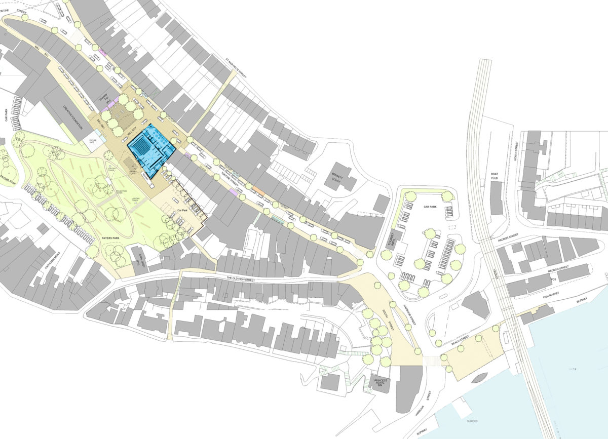Alison Brooks Architects _ Quarterhouse Performing Arts & Business Centre _ Folkestone _ Masterplan (2)