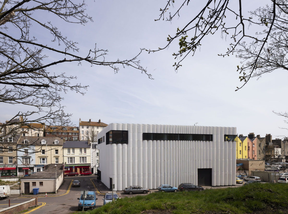 Alison Brooks Architects _ Quarterhouse Performing Arts & Business Centre _ Folkestone _ Photo Back