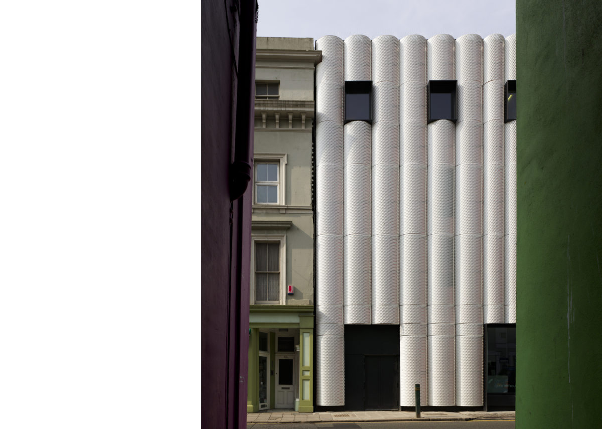 Alison Brooks Architects _ Quarterhouse Performing Arts & Business Centre _ Folkestone _ Photo Facade Context