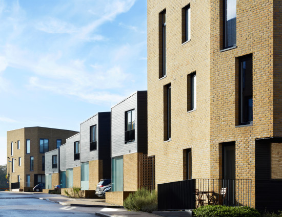 Alison Brooks Architects _ Newhall Be _ Harlow Essex _ Photo Rear Facades