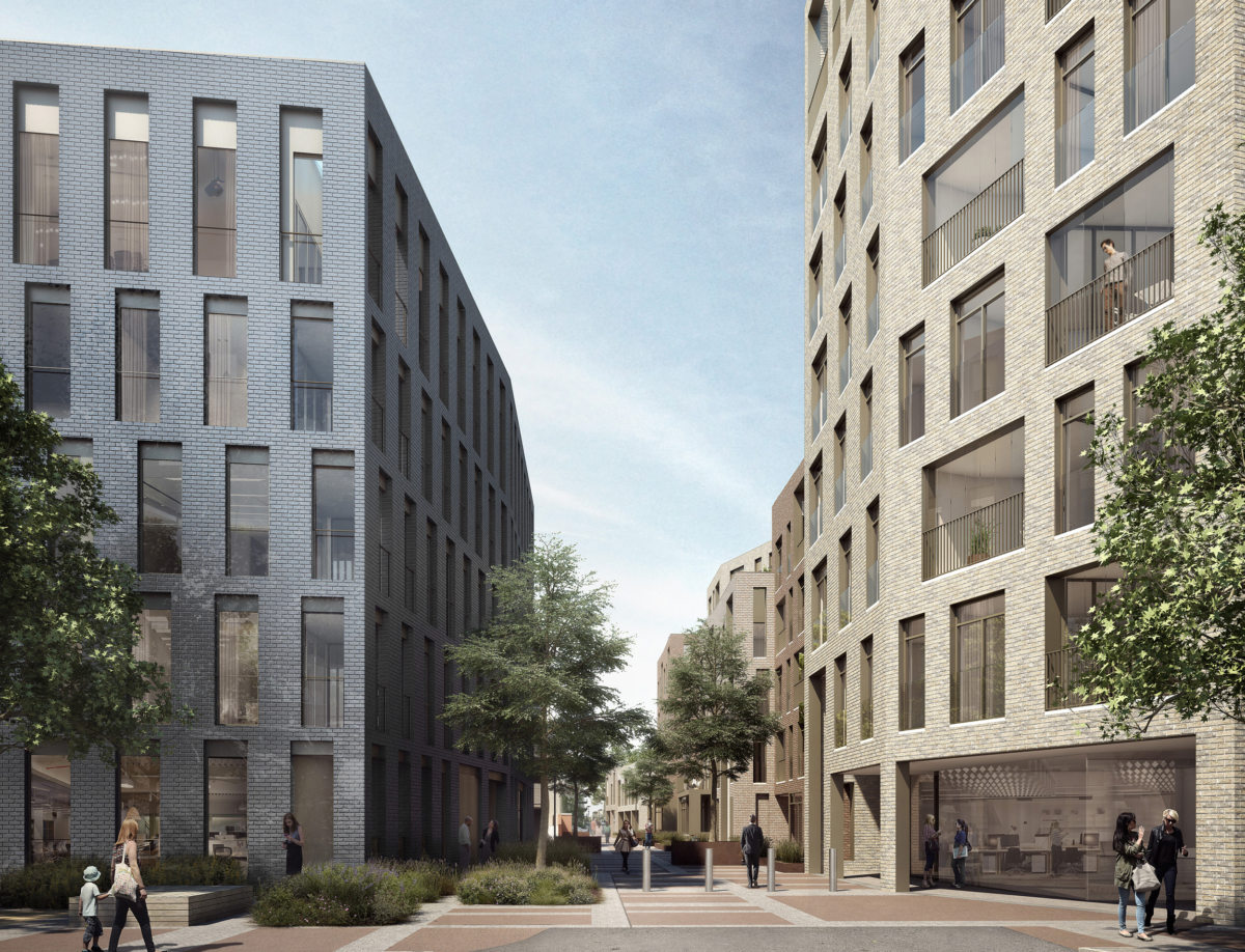 Alison Brooks Architects _ Severn Place _ Cambridge _ Access from Nelson Close 1