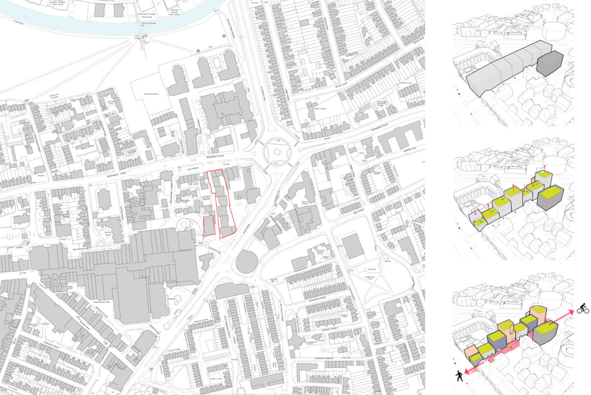 Alison Brooks Architects _ Severn Place _ Cambridge _ Location Plan _ Diagrams