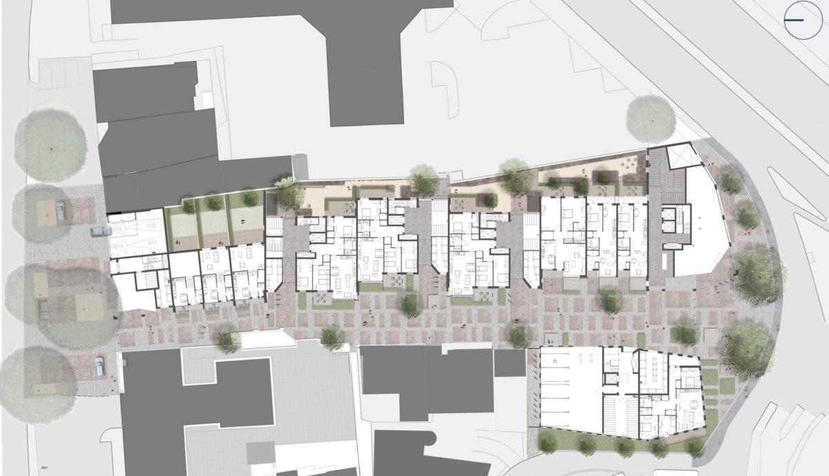 Alison Brooks Architects _ Severn Place _ Cambridge _ Plan