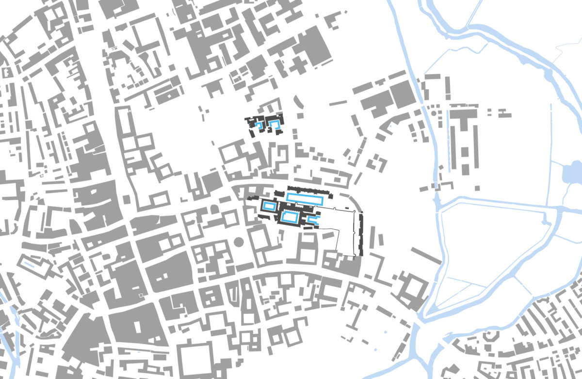 Alison Brooks Architects _ New College _ Oxford _ Location Plan