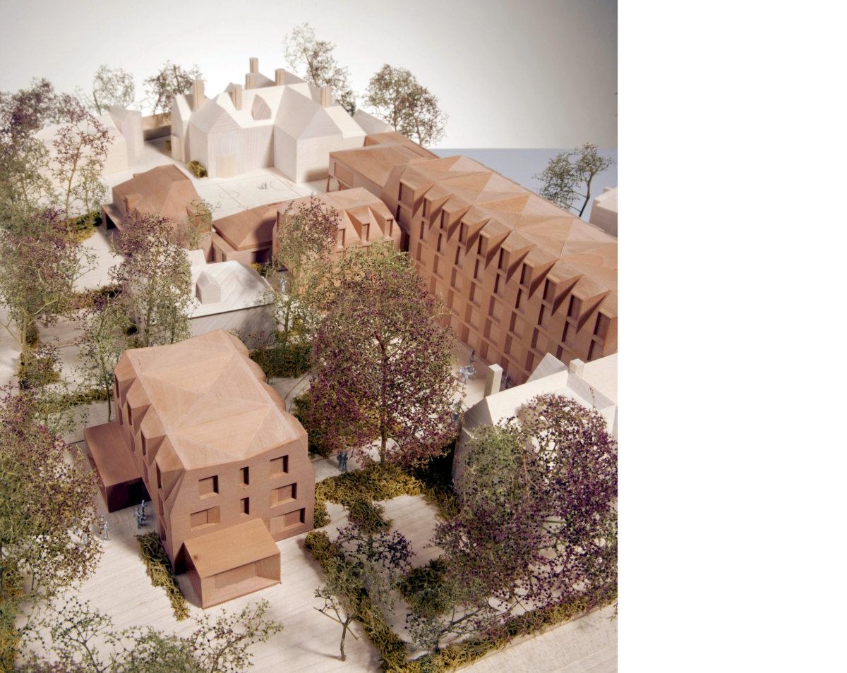 Alison Brooks Architects _ New College _ Oxford _ Model Photo 1