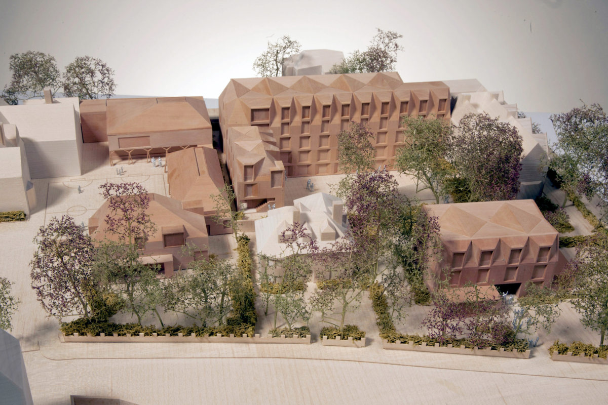 Alison Brooks Architects _ New College _ Oxford _ Model Photo 2