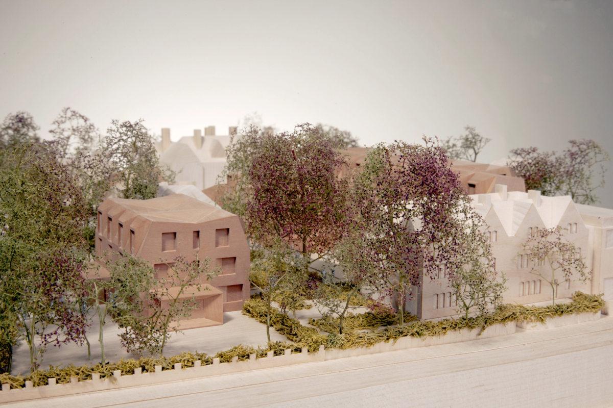 Alison Brooks Architects _ New College _ Oxford _ Model Photo 3