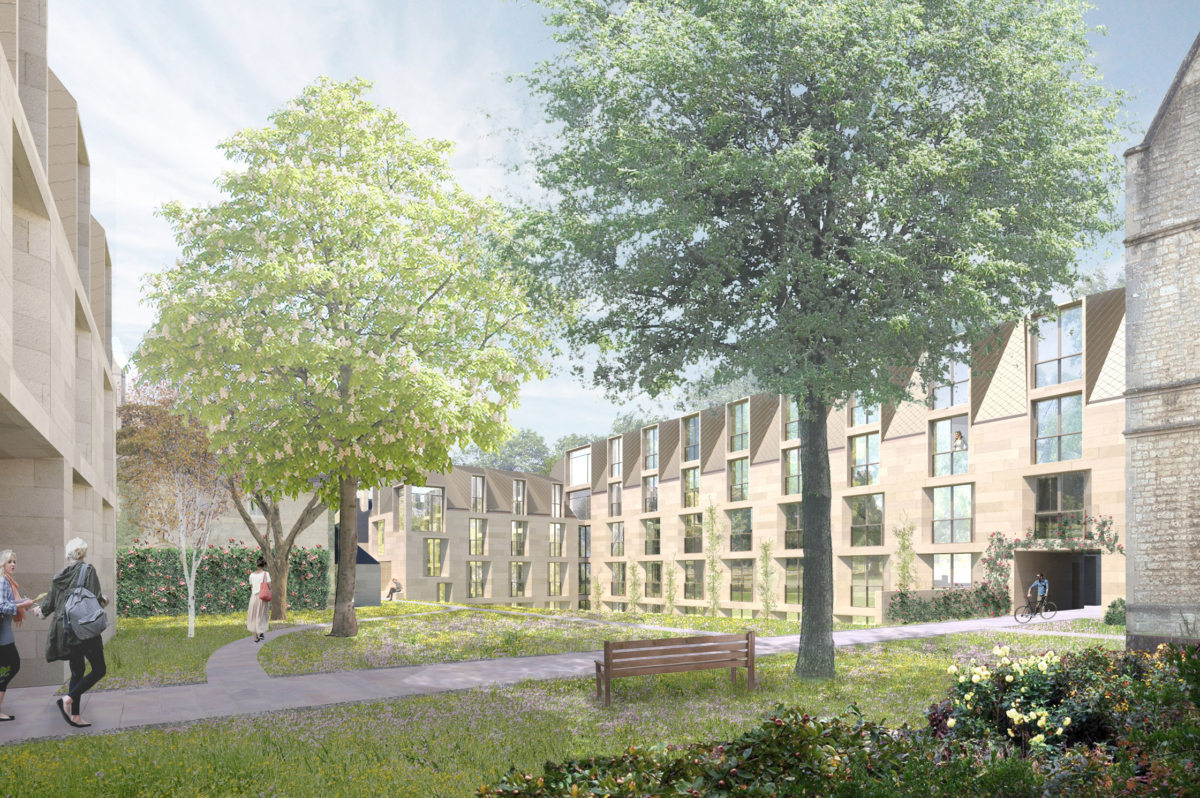 Alison Brooks Architects _ New College _ Oxford _ Rendering College Quads 3