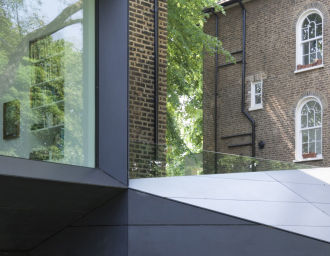 Alison Brooks Architects _ Lens House _  Photo Cladding Detail