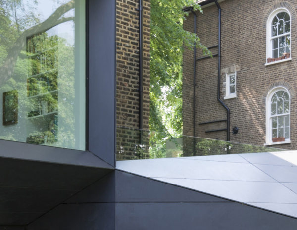 Alison Brooks Architects _ Lens House _  Photo Cladding Detail