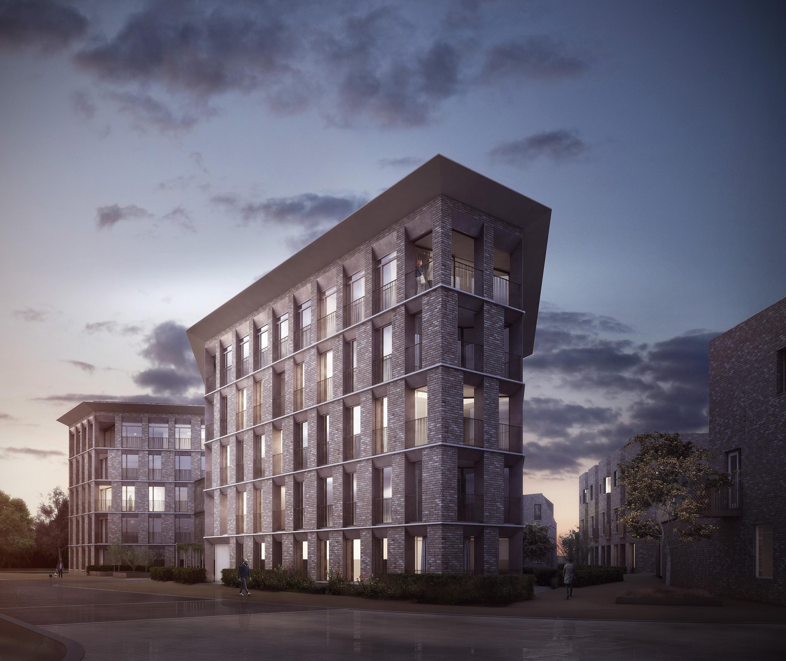 University Court Apartments: Alison Brooks Architects