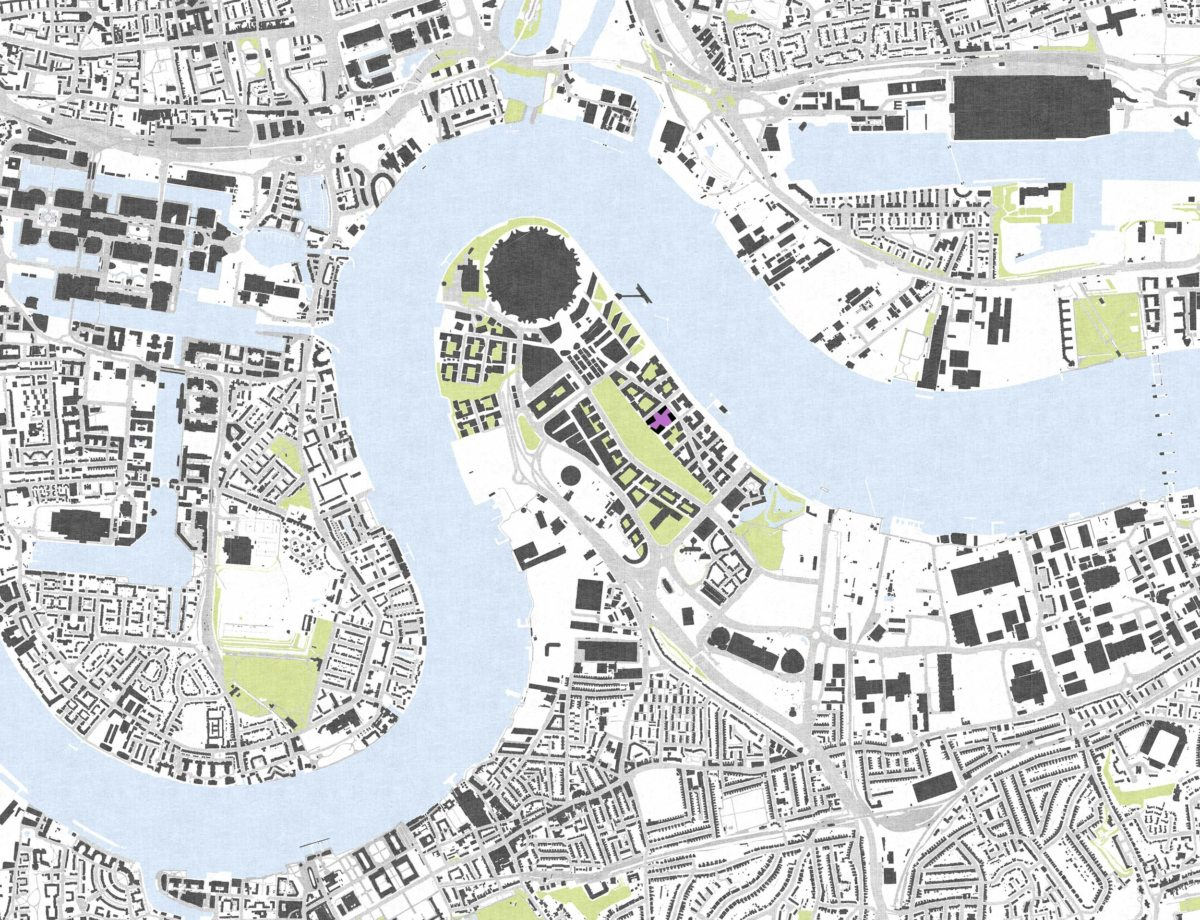 Alison Brooks Architects_Greenwich Peninsula_site plan